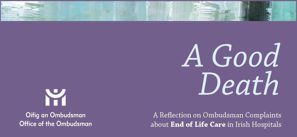 A good death - Office of Ombudsman report June 2014