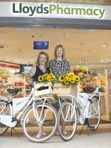Sharon Foley CEO Irish Hospice Foundation & Goretti Brady, managing director, LloydsPharmacy