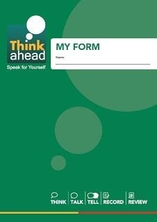The Think Ahead form