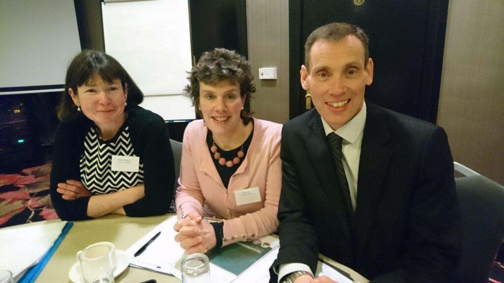 Margaret McKiernan, Marie Lynch, Dr Ciaran Browne