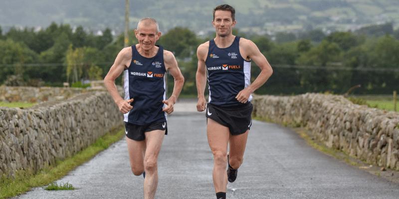 Hugh Morgan Paddy Hamilton Marathon des Sables 2021