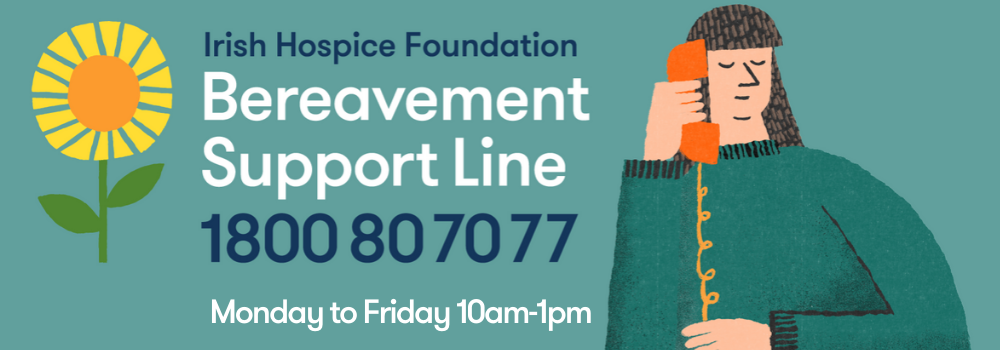 IHF Bereavement support line 1800807070 july 2020
