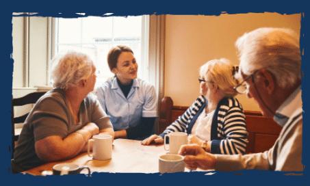 Hospice care staff