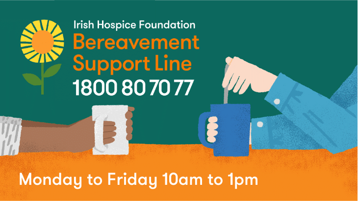 bereavement support line IHF 2021