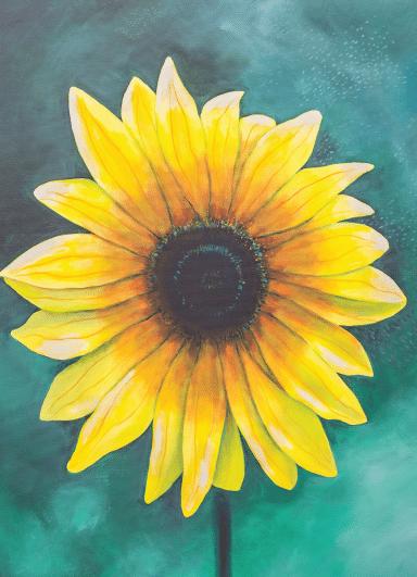 emma barone sunflower card