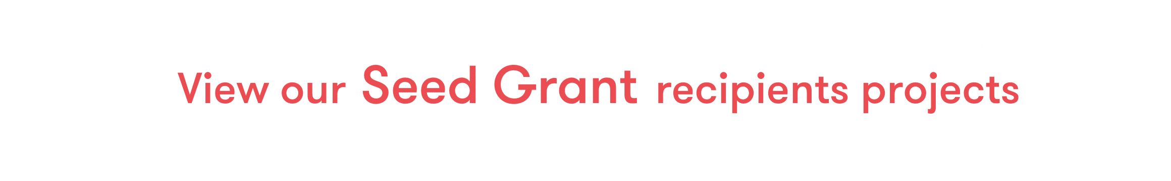 seed grants recipients projects3