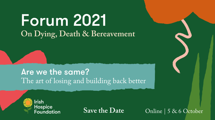 Forum 2021 Save the Date